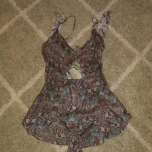 Victoria Secret Romper- pajamas